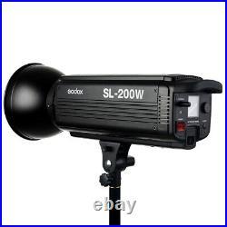 GODOX SL-200W II LED Video Leuchte 74000 LUX by studio-ausruestung. De