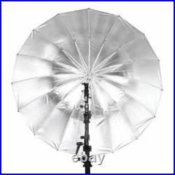 Godox E250 Photo Studio Strobe Flash Head Light Video & Reflective Umbrella Set