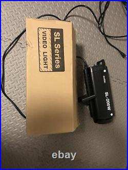 Godox SL-200W LCD Panel LED Video Light Wireless Control Studio under 8 hr usage