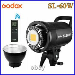 Godox SL 60W 5600K Studio LED Video Light White Continuous Light +Remote Control