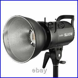 Godox SL 60W 5600K Studio Photography LED Video Light Lightiing for DV Camera