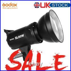 Godox SL-60W 60W 5600K LED Video Continuous Studio Light + Remote Control UK
