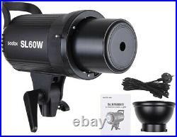 Godox SL 60W 60WS 5600±300K Video Wireless Control Continuous Studio Light