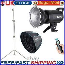 Godox SL-60W Studio LED Video Light +36 Parabolic Softbox + Steel Light Stand