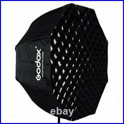 Godox SL-60W Studio LED Video Photo Light + 80cm Octagon Softbox with Grid Kit
