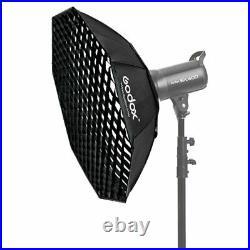 Godox SL-60W Studio LED Video Photo Light + 95cm Softbox with Grid + Stand Kit