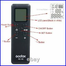 Godox SL-60W Studio LED Video Photo Lighting + Softbox Grid Set For Wedding Kids