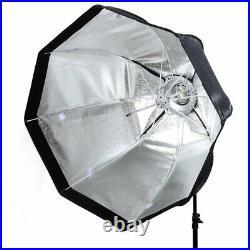 Godox SL-60W Studio Photo LED Video Lighting + 95cm Octagon Softbox + Stand Set