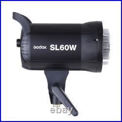 Godox SL60W 5600K Photo Studio Wireless Remote LED Video Light Lamp Bowens Mount