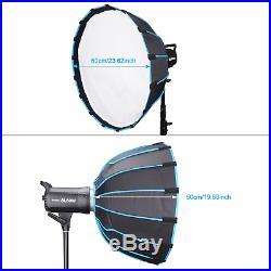 Godox SL60W Studio LED Video Light Continuous Light + Softbox + 2.8M Light Stand
