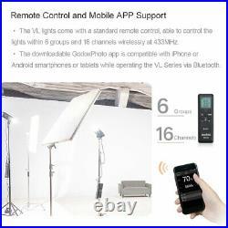 Godox VL150 150W 5600K White Version LED Video Light Continuous APP Studio Light