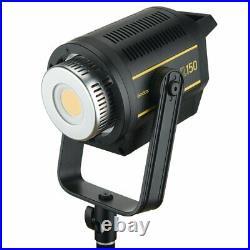 Godox VL150 Compact Studio LED Video Light +95cm softbox +2m light stand +BD-04