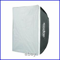 Godox VL150 Compact Studio LED Video Light Bowens +6060CM softbox+light stand