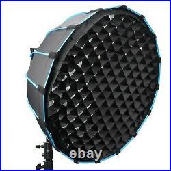 Godox VL150 Compact Studio LED Video Light Bowens + Parabolic Softbox + C Stand