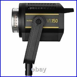 Godox VL150 Compact Studio LED Video Light Bowens +Parabolic softbox+light stand