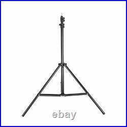 Godox VL300 Compact Studio LED Video Light Bowens +Parabolic softbox+light stand