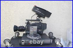 Hitachi Z-4000W Video Camera Studio Set 16x9 SDI