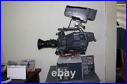 Hitachi Z-4000W Video Camera With Triax SDI Studio Package