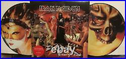 Iron Maiden Dance Of Death Limited Edition Picture Disc Vinyl 2 LP Record