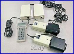 JVC KY-F55B Pro Video Camera Studio Set, 1x RM-LP55 Remote, 2x cameras w lens