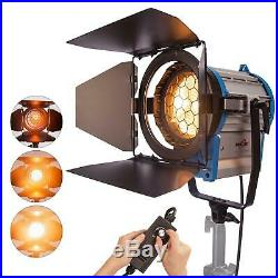 Junior Fresnel Tungsten 1000W Studio Light Dimmable Spotlight Lighting Video Gel