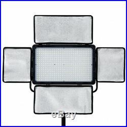 LED Flächen-Leuchte VL-420 Studio Video-Dauer-Licht Foto-Lampe 3000 lm