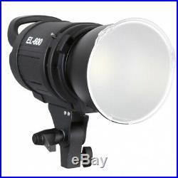 METTLE LED Foto-Studio-Leuchte EL-600 Beleuchtung 6000 Lm Power Video-Licht Spot