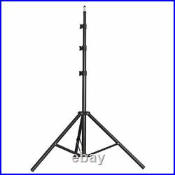 METTLE LED Studio Licht Set SL-420 2x Flächen-Leuchte Foto Video Lampe + Stative