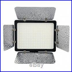 METTLE Studio-SET VL-3000 Presse-Interview Licht 3x LED Foto Video-Leuchte Lampe