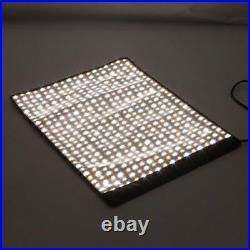 Meking 100W Roll-Flex LED Light Lamp Bi-Color 3000K-5600K Kit For Studio Video
