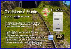NEU Video Bearbeitung MacroSystem Casablanca 4 Studio! Preissenkung