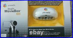 NIOB Pinnacle Studio MovieBox Video Input Adapter 510-USB 2 Discs Manual NIOB