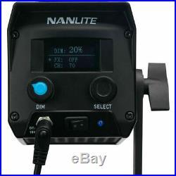 Nanguang NANLITE Forza 60W COB LED Video Light Portable Photo Studio Spotlights