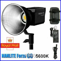 Nanguang NANLITE Forza 60WCOB LED Photography Light Studio Camera Video Light
