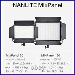 Nanguang Nanlite MixPanel 150W LED Light RGB 98CRI 2700K-7500K For Studio Video