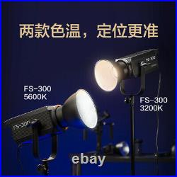 Nanlite FS-300 5600K 330W Led video Light COB Spoitlight Photo Studio Light USB