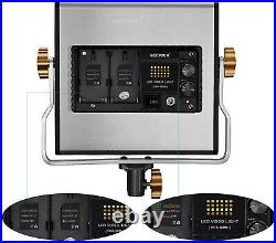 Neewer Dimmable Bi-color LED with U Bracket Professional Video Light for Studio