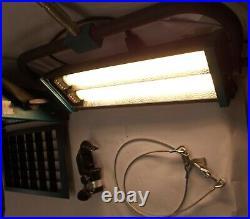 Nesyflex 440 & 220 Studio Video Foto Tages Flächen Licht Scheinwerfer 2 Stück jh