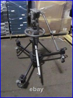 OEM LIBEC P 110 P110 Pedestal System Video Camera Studio Tripod H70 Fluid Head