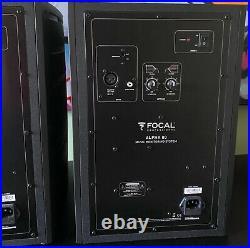 Pair Focal Alpha 80 Studio Monitors Video Boxed Folkestone Kent Active Speakers