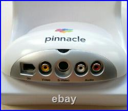 Pinnacle Studio MovieBox 510 USB Video Capture VHS/Video8/Hi8/Digital8 Tapes