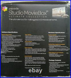 Pinnacle Studio MovieBox 710 USB Capture VHS/Video8/Hi8/Digital8 Tapes