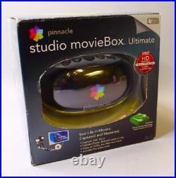 Pinnacle Studio MovieBox Ultimate Fire Wire USB Capture Video Editing 710-USB