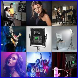Pixel RGB LED Video Lighting Kit, 50W Studio Video Lights for YouTube Lighting