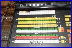 ROSS SYNERGY 2 SD STUDIO VIDEO PRODUCTION SWITCHER SYNERGY 2A-CP +Rack Frame