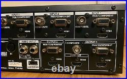 Roland V-40HD HD/SD Video/Audio Studio Switcher Mixer HDMI RGB Multi-Format Live