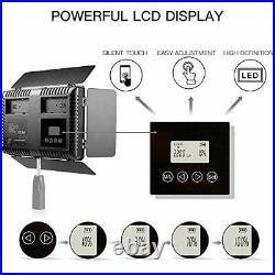 SAMTIAN 600 LED Camera/Studio Video Light Kit, CRI95 3200K/5600K, 75 Stands