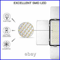SAMTIAN LED Video Light 600 LED Camera/Studio Light Kit CRI95 3200K/5600K Camera