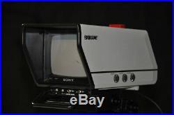 SONY Broadcast Vintage Kit VIDEO CAMERA DXC-M7 + CA-M7 STUDIO ADAPTER + DXC-750