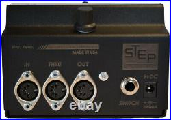 STATUS Studio MIDI Display, Clock, and Mapper by Step Audio SEE VIDEO